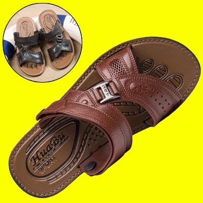 凉鞋子女韩版男拖鞋小孩的凉鞋婴幼儿男民族风男士皮鞋凉拖女士中