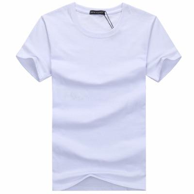 【2件装/1件装】男士圆领短袖T恤宽松夏大码纯色汗衫半袖背心